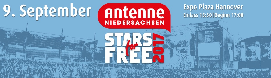 Stars For Free 2017 In Hannover Tickets Brawo Aktuell